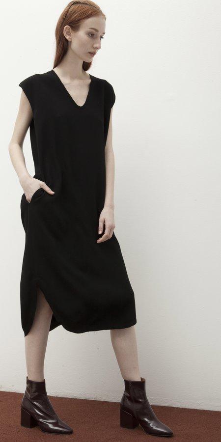 Schai Drappo Lean Dress - Black