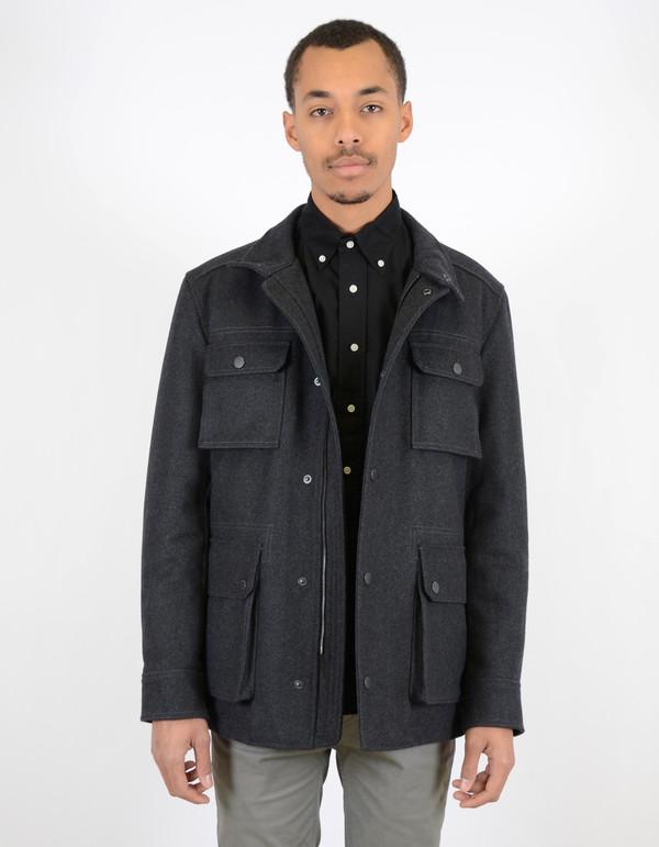 Ben Sherman Melton Field Jacket Chimney