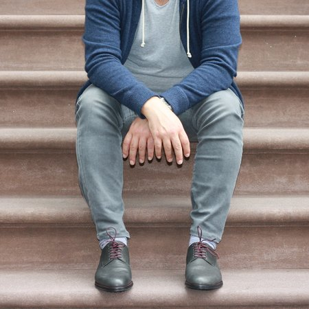 Noah Waxman York Lace up - Slate