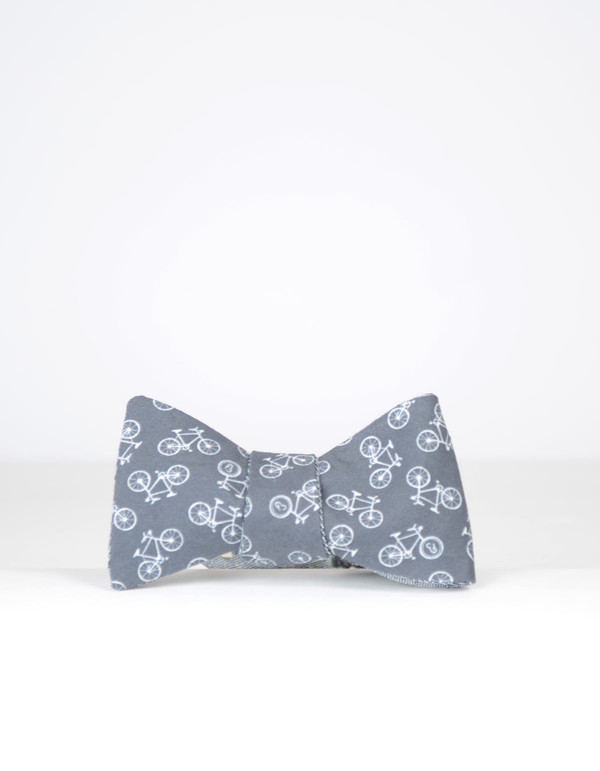 Cursor and Thread Reversible Bow Tie Blue