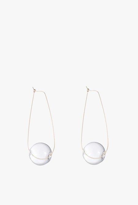 Ak Studio Large Light Being Earrings