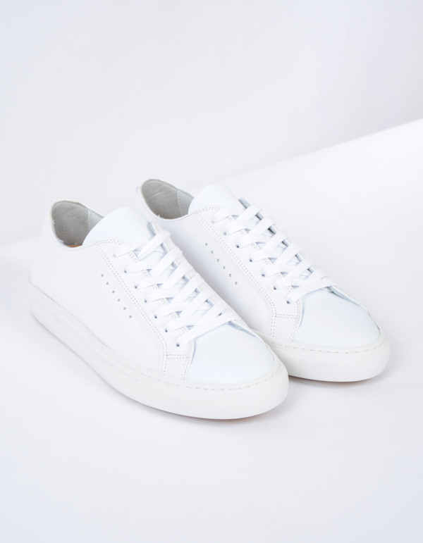 Filippa K Kate Low Sneaker Optic White