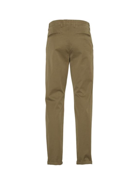 knowledge cotton apparel Chuck regular stretched chino pant - olive