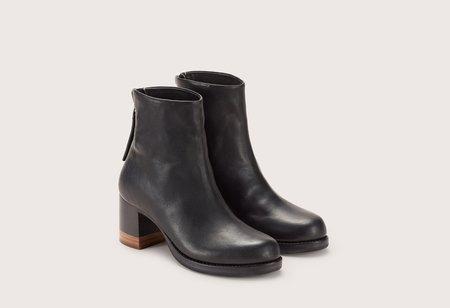 FEIT Bi Color Heel Boot - Black