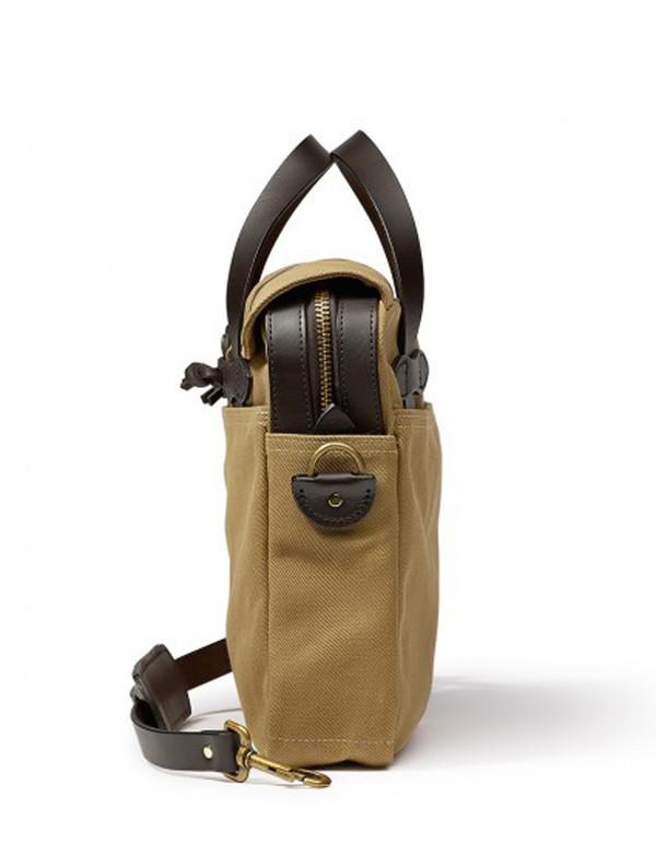 Filson Original Twill Briefcase Tan