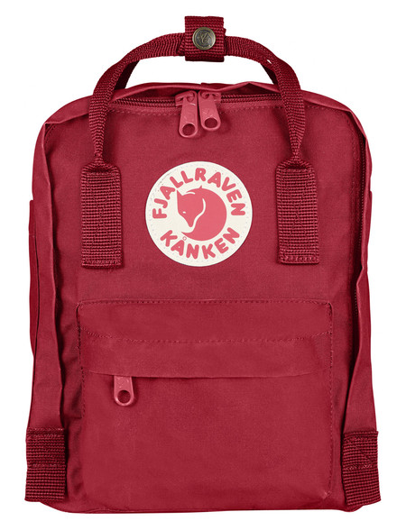 Fjallraven Kanken Mini Backpack Deep Red