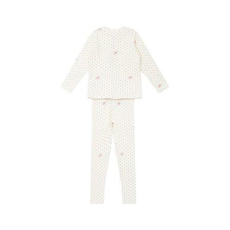 KIDS bonton loungewear set - star pink
