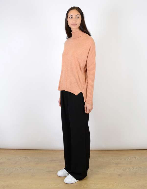 Just Female Carla Short Blouse Cloud Toasted Nut