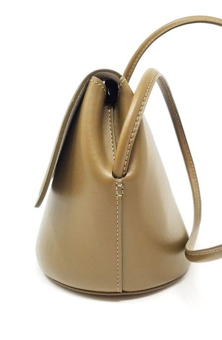 Modern Weaving Petite Trapeze Bucket Handbag