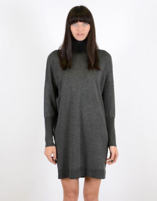 Just Female Linko Turtleneck Sweater Antrasit Melange