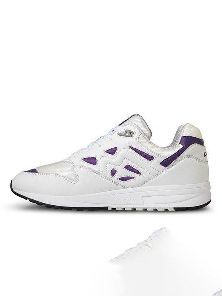 """Karhu Legacy 96 """"OG"""" Sneaker - Bright White/Tillandsia Purple"""