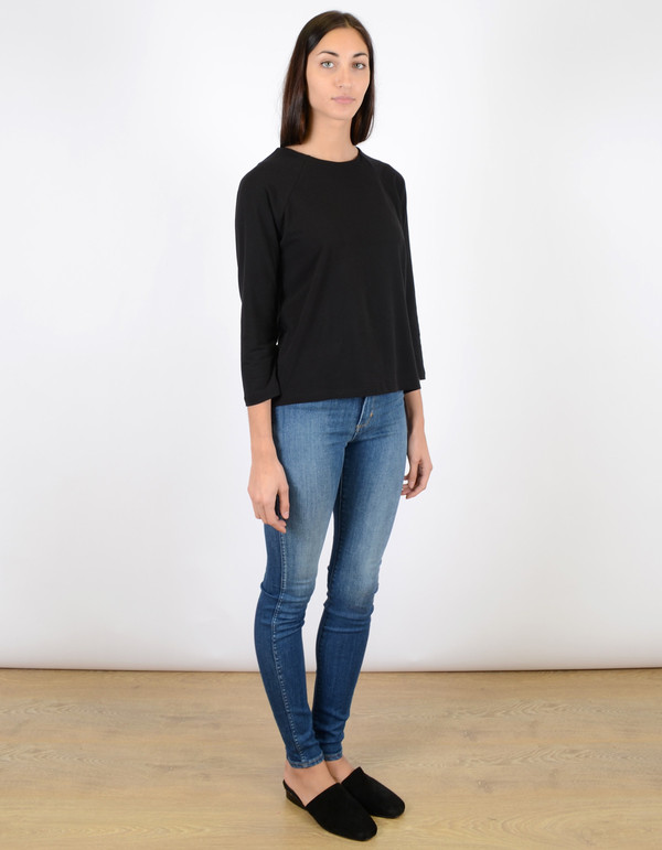 Just Female Sippo Blouse Black