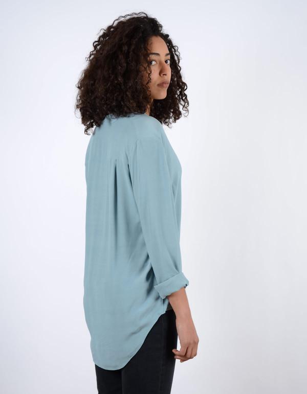 Just Female Trine Shirt Smoke Blue
