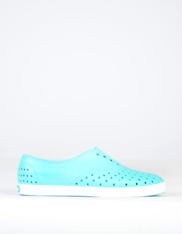Native Shoes Native Jericho Cabo Blue with Shell White