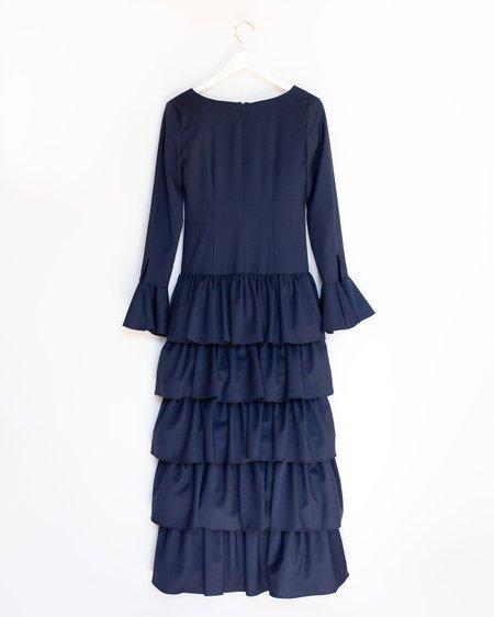 Maryam Nassir Zadeh Flute Dress - Ink