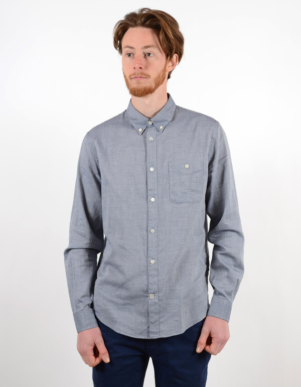 Men's No Nationality New Derek Shirt Navy