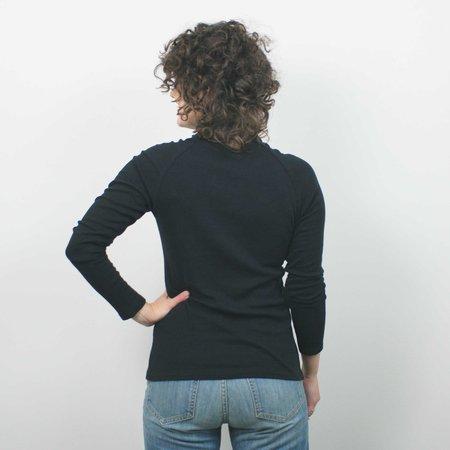 Jennifer Glasgow Marishi Ten Raglan Top - Black