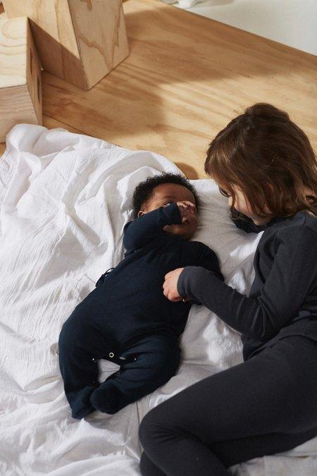 Baby Bacabuche Kimono Onesie & Bonnet - Midnight