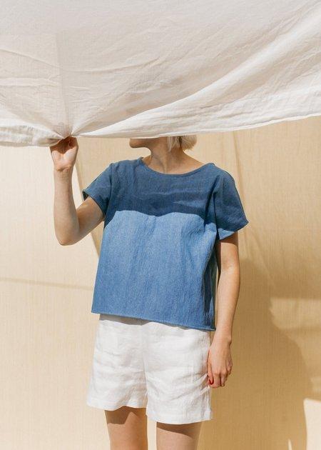 Two Fold Clothing Isamu Linen Short - Flax