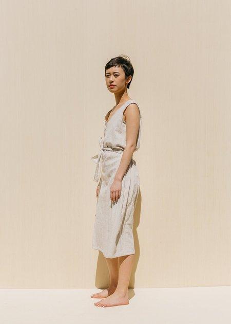 Two Fold Clothing Kayo Linen Dress - Flax
