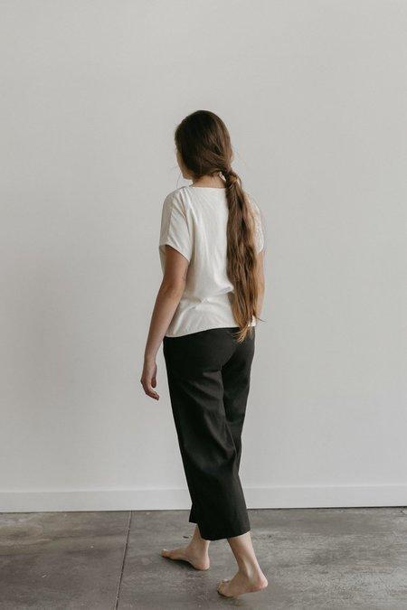 Two Fold Clothing Salome Hemp Cotton Canvas Pant - Black