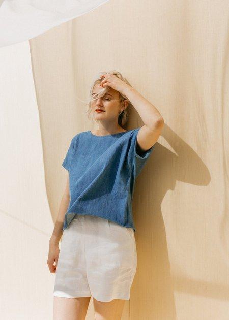 Two Fold Clothing Isamu Linen Short - Olive
