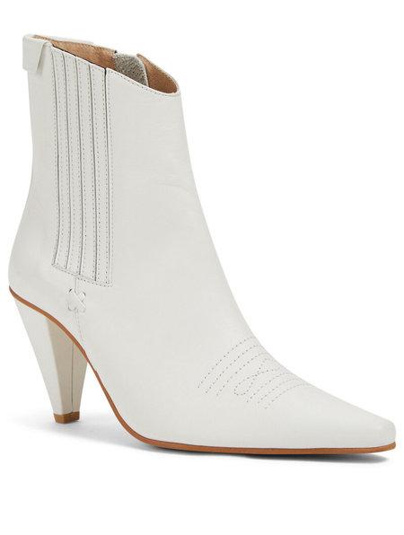 REIKE NEN Pointed Chelsea Slim Boot - WHITE