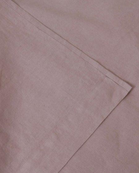 Shop Sunday Morning Marcel Linen Flat Sheet - Orchid