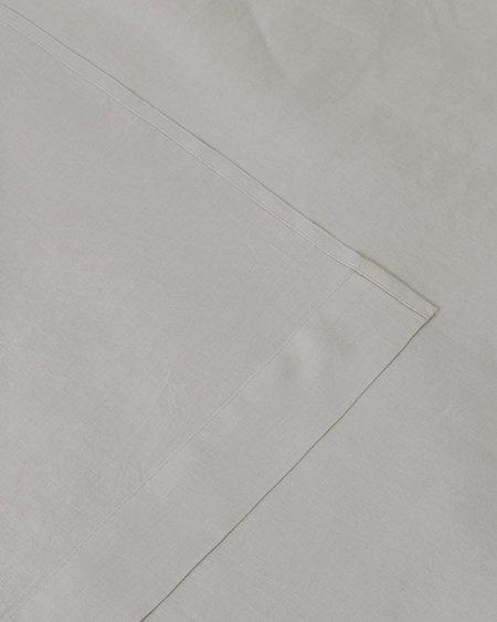 Shop Sunday Morning Marcel Linen Sheet Set - Dove