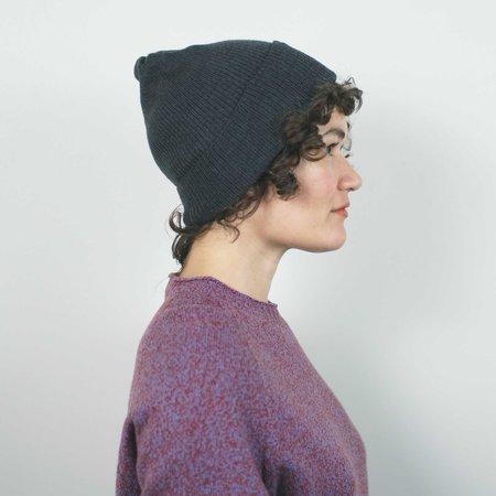 Erdaine Rib Knit Hat - Charcoal