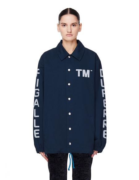Pigalle Cotton TM Coach Jacket - Navy Blue