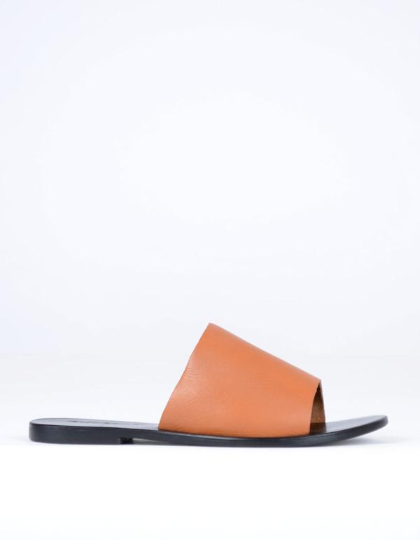 Sol Sana Teresa II Slide Burnt Tan