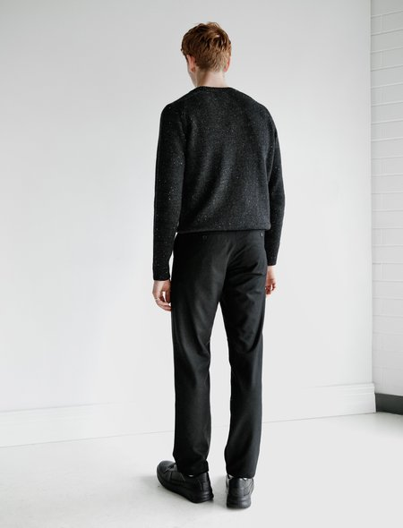Norse Projects Aros Wool Trouser - Black
