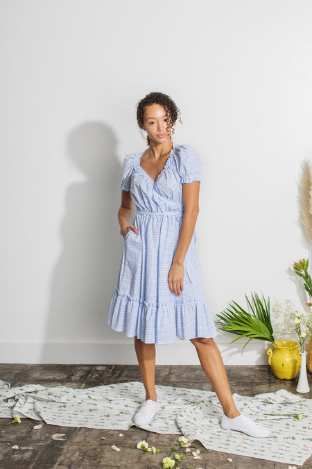 Plante Pampas Dress - Gingham