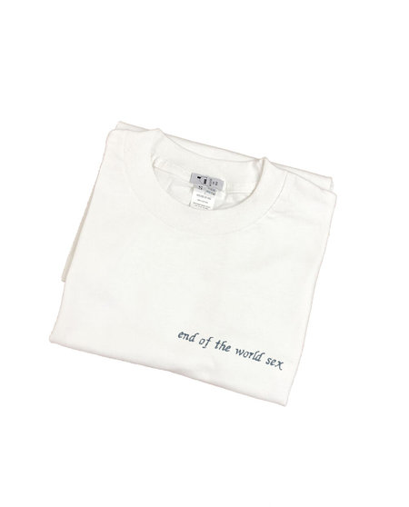 Unisex House of 950 end of the world sex tee shirt