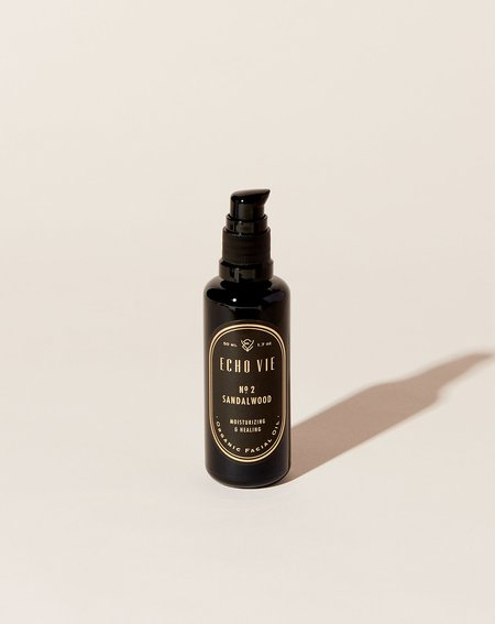 Echo Vie Organic Face Oil - Sandalwood