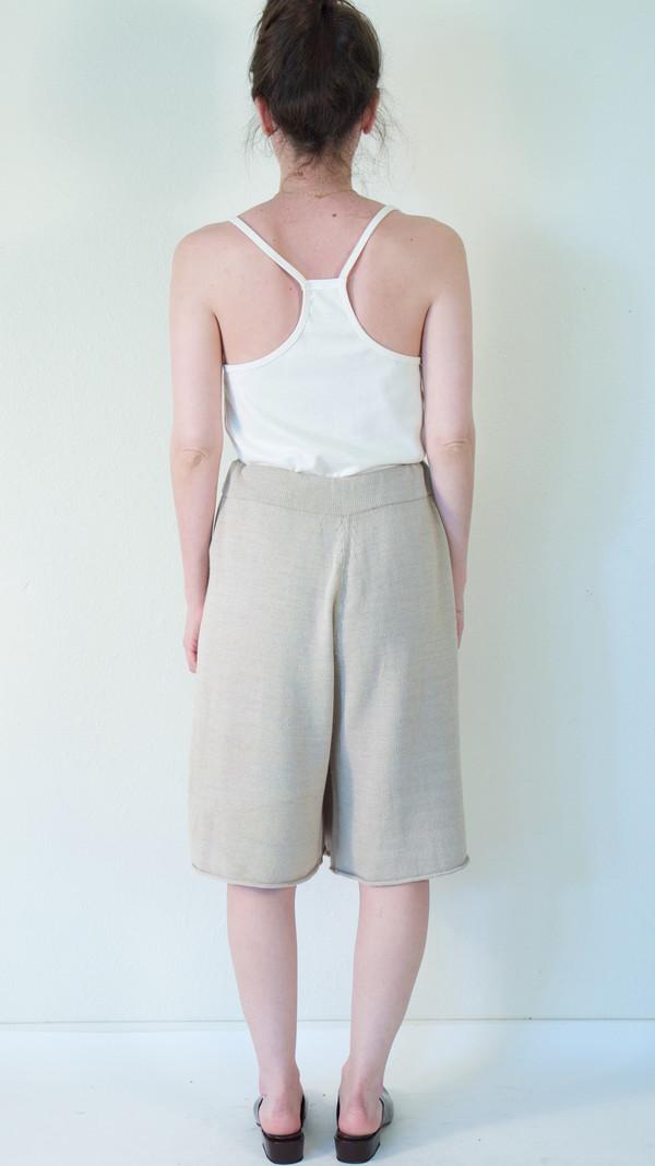 Lauren Manoogian Miter Shorts in Avena