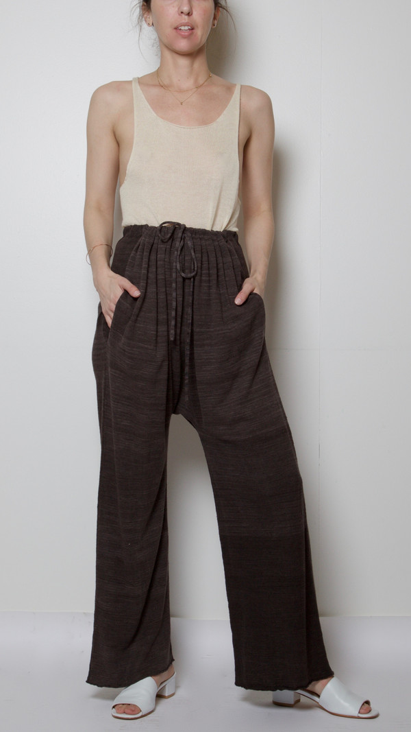 Lauren Manoogian Sack Pants in Oscuro