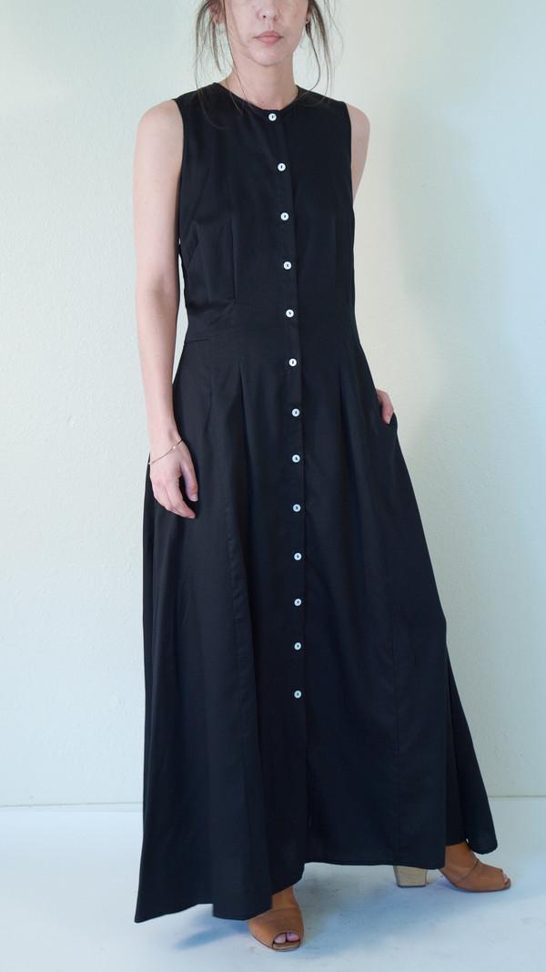 Nikki Chasin Inga Buttonfront Dress in Ash
