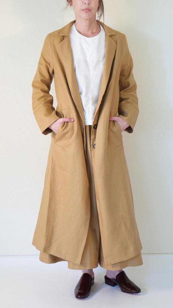 Wolcott : Takemoto Norma Jacket in Tan