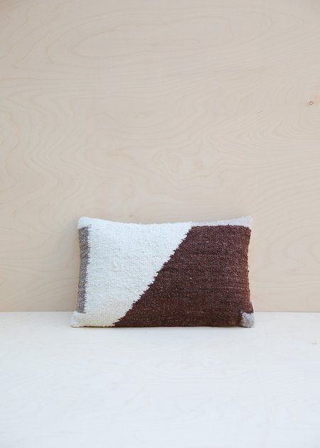 Territory Lato Lumbar Pillow - Rust