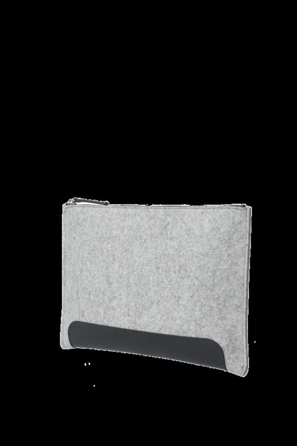 Graf & Lantz Andie pouch Granite/Black