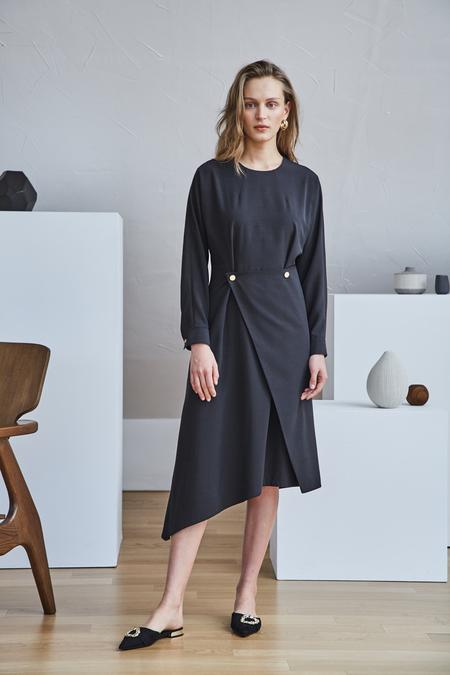 Maison De Ines UNBALANCE WRAP DRESS