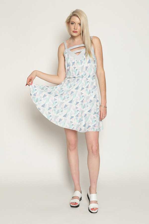 Eve Gravel Cotton Candy in Pastel/Soft Blue