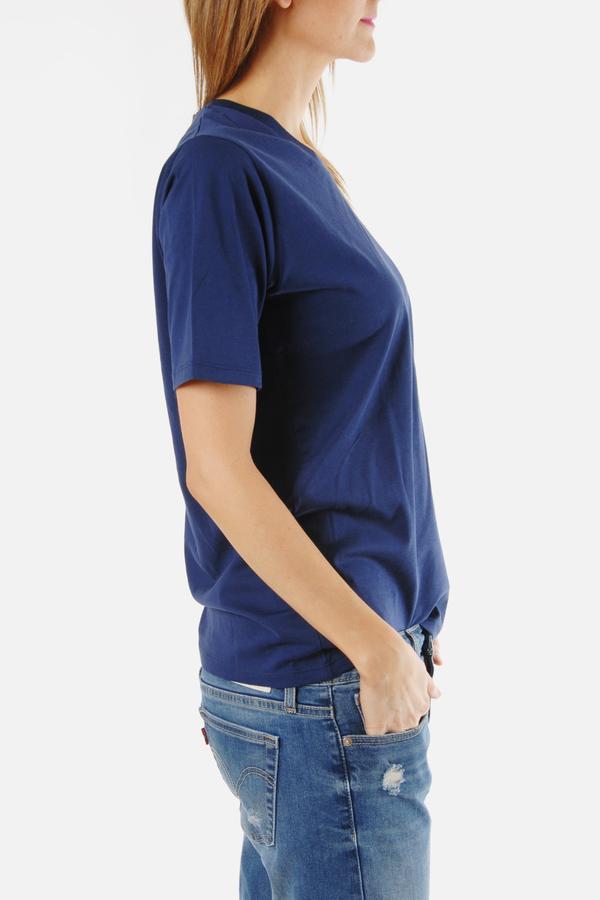 Handvaerk Navy Boyfriend T Shirt