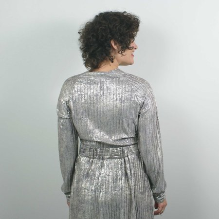 Allison Wonderland Tennille Top - Silver