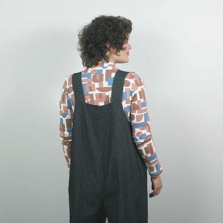 Lu. The New World Jumpsuit No. 2 - Black Denim