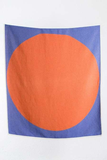 ZigZag Zurich Fuji Cotton blanket