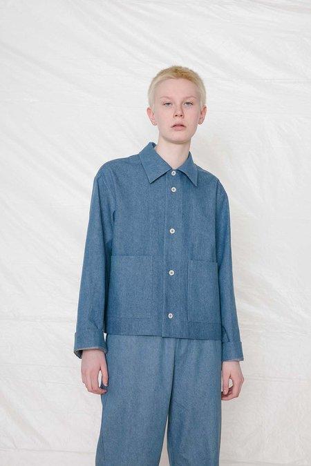 UNISEX FAAN Hiyo Coat - Blue Denim