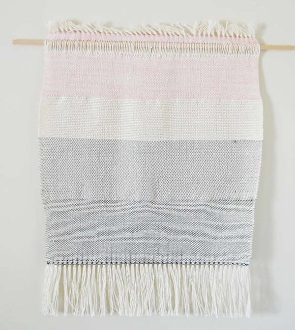 Ana Isabel Textiles Colour Block Silk Weaving